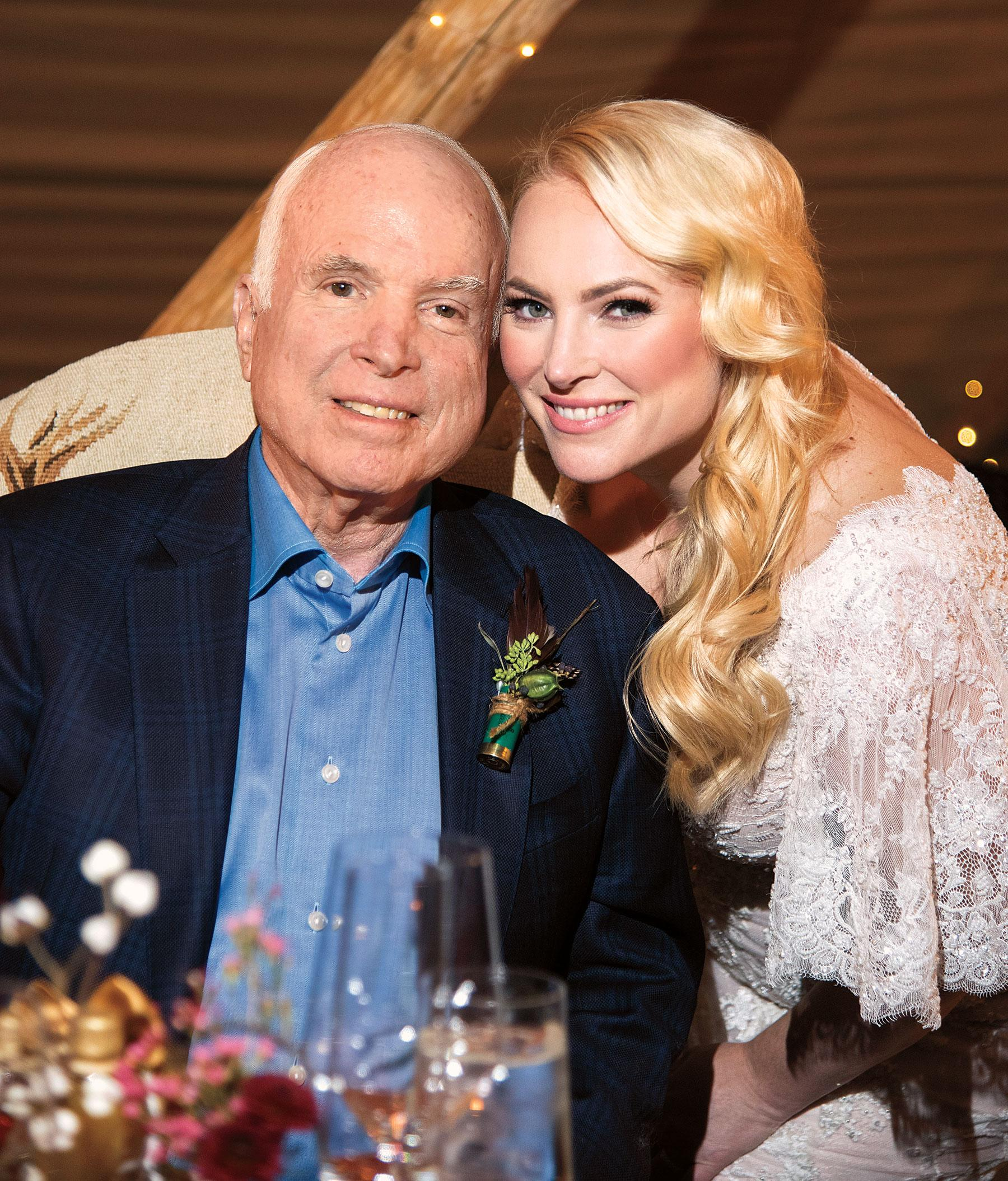 John Mccain Latest News Photos And Videos: John McCain Lived To See Daughter Meghan Get Married: 'I