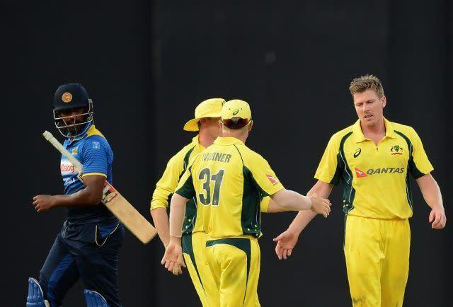 James Faulkner dished out a brilliant hat-trick to halt Sri Lanka's run flow