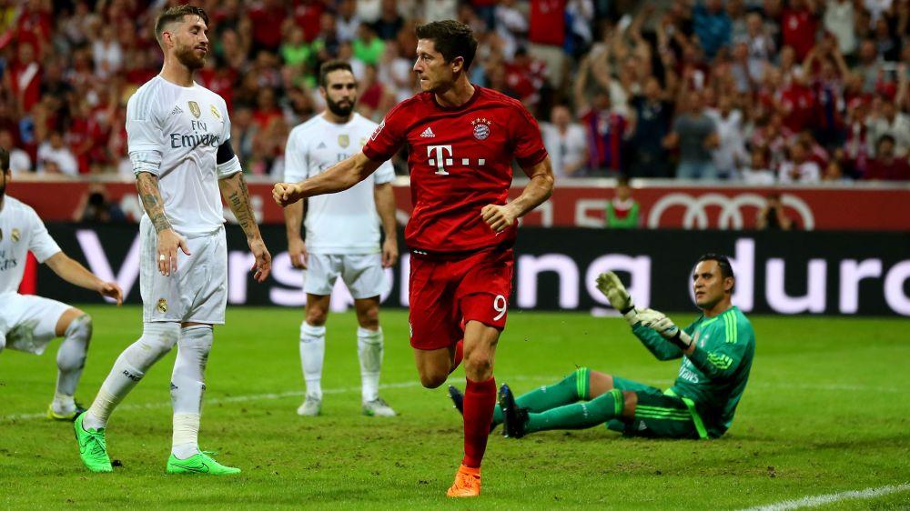 Gerücht: Ramos und Ronaldo wollen Lewandowski zu Real Madrid holen