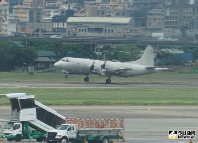 軍機罕見起降松山機場 國防部關切了