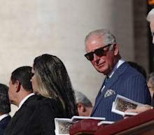 Pope declares John Henry Newman a saint in ceremony attended by Prince Charles