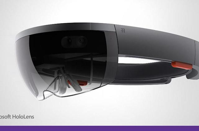Microsoft's HoloLens headset is a holographic display for Windows 10