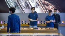 Apple says coronavirus effects will cause revenues to fall short of guidance