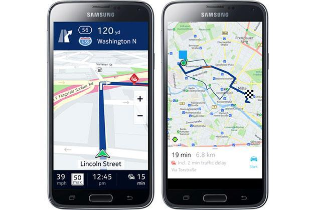 Nokia's Here Maps is coming to Android as a Samsung exclusive