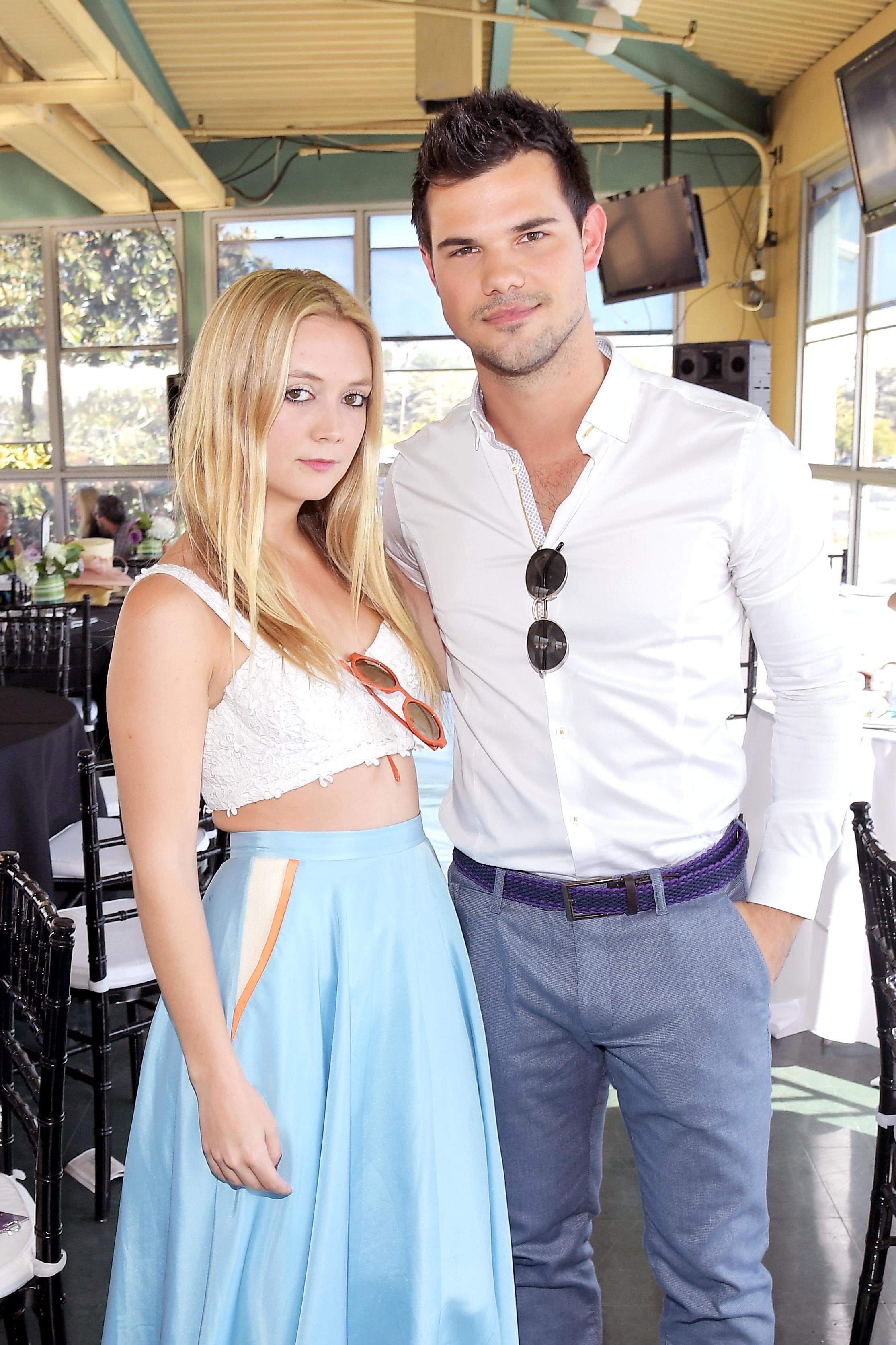 Taylor Lautner Stepped Up Like A Husband To Support Billie Lourd According To Her Uncle