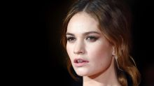 Lily James gives first interview following Dominic West scandal
