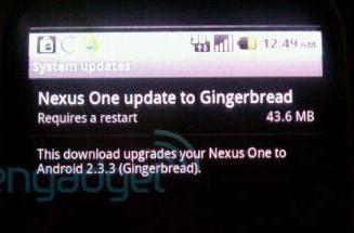 Nexus One Android 2.3.3 update arrives OTA, breaks Google Voice for some