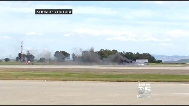 Autopsy: Fire Killed Pilot After He Crashed At Travis AFB Airshow