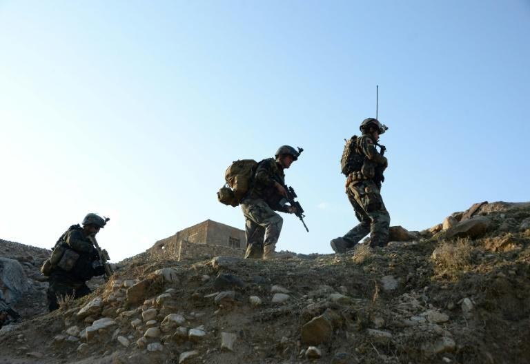 US troops have been in Afghanistan for nearly 20 years