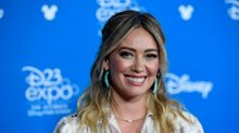Hilary Duff just shared her favourite $109 'good booty pants' for staying fit at home