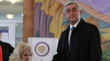 Ruling party in Armenia leads parliamentary vote