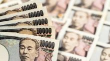 British pound breaks through major uptrend line against Japanese yen