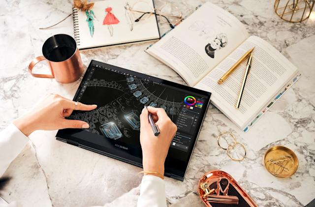 ASUS' latest ZenBooks feature OLED and 'Intel Evo' designs