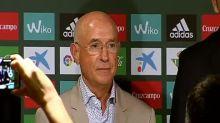 El Betis presenta a su nuevo vicepresidente deportivo, Lorenzo Serra Ferrer