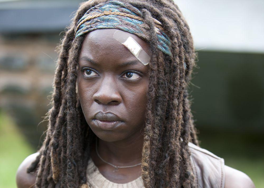 Danai Gurira as Michonne in 'The Walking Dead' (Photo: AMC)