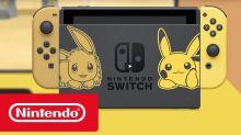 Nintendo Switch 為《Pokémon: Let's Go》推出別注機身套裝