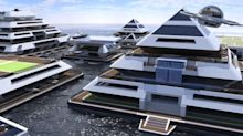 La nueva ciudad de las pirámides flotantes busca habitantes para 2022