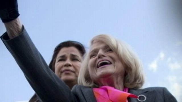 83-Year-Old Woman Takes Center Stage in Marriage Equality Case