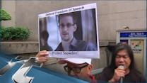 Edward Snowden Breaking News: Hundreds in Hong Kong Protest NSA Surveillance
