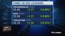 CNBC IQ 100: Progressive up over 4%