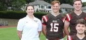 Brown quarterback coach Heather Marini, left. (Courtesy of David Silverman Photography)