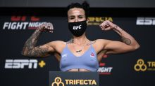 UFC's Ashlee Evans-Smith rebels against notion that journalists aren't tough