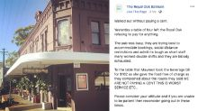 'Absolute disgrace': Sydney diners' 'appalling' act amid lockdown lift