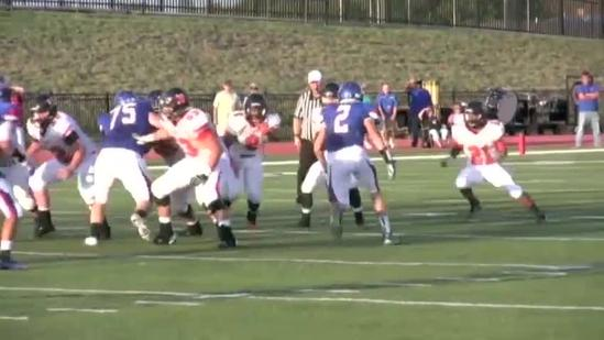 Raw video: Norman Tigers whip Moore Lions 28-10