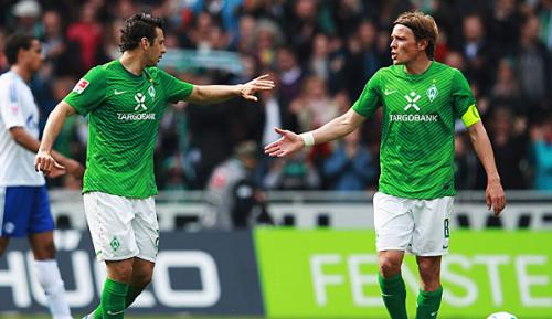 """Bundesliga: Baumann: Fritz und Pizarro bei Werder """"weiter willkommen"""""""