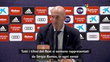 """Zidane: """"Ramos è il motore del Real"""""""