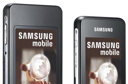 Samsung's F300 and F500 Ultra phones