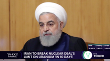 Iran threatens to break nuclear deal's limit on uranium 'in 10 days'