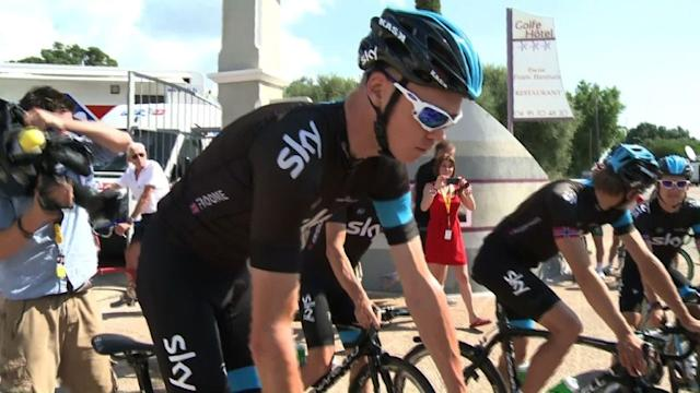 Froome and Team Sky make final preparations