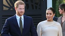 Baby Sussex Is Reportedly Overdue, But Prince Harry & Meghan Markle in 'Good Spirits'
