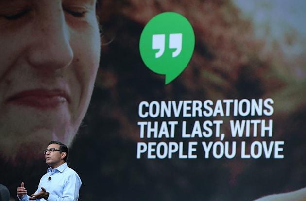 Google makes a Hangouts Mac app you'll want to use