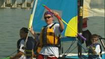 Foundation teaches disabled children how to sail