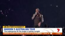 Maroon 5 hits the stage in Sydney