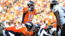 Peyton Manning's touchdown passes have sharply declined; comments on injury report