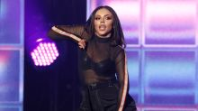 Little Mix star Jesy Nelson breaks down in tears during Milan show