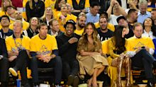 Beyoncé and JAY-Z Cheer Courtside from NBA Finals Game 3 as Metallica Rocks Fiery National Anthem