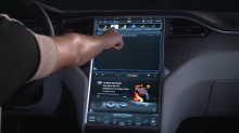 Tesla will reportedly use Intel chips to power its massive infotainment console