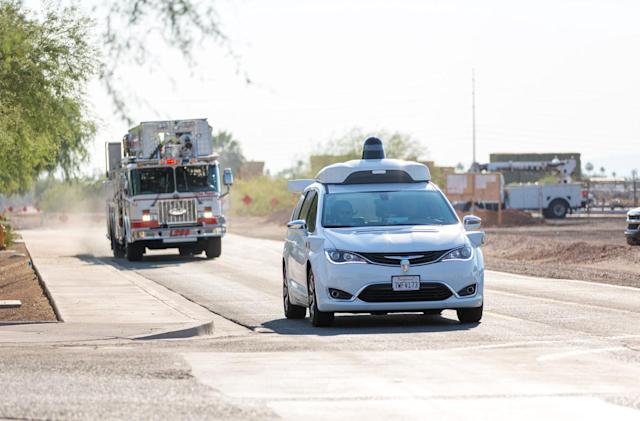 Waymo teaches its autonomous cars to detect emergency vehicles