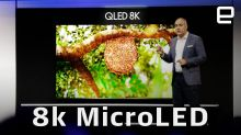 Samsung dives into 8K, MicroLEDs and more at CES