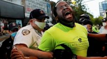 'We're disposable': Disturbing photo shows senator pepper sprayed at protests
