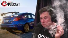 Caddy XT4, Subaru STI Type RA, and blazin' Elon | Autoblog Podcast 553