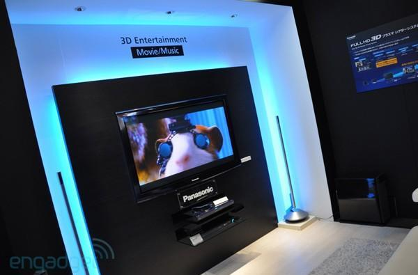 Panasonic's 50-inch 1080p 3D plasma spotted, watched at CEATEC