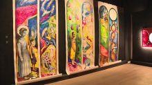 Fernand Léger, Rouault, Garouste, les vitraux d'artistes contemporains donnent des couleurs à l'abbaye de Fontevraud
