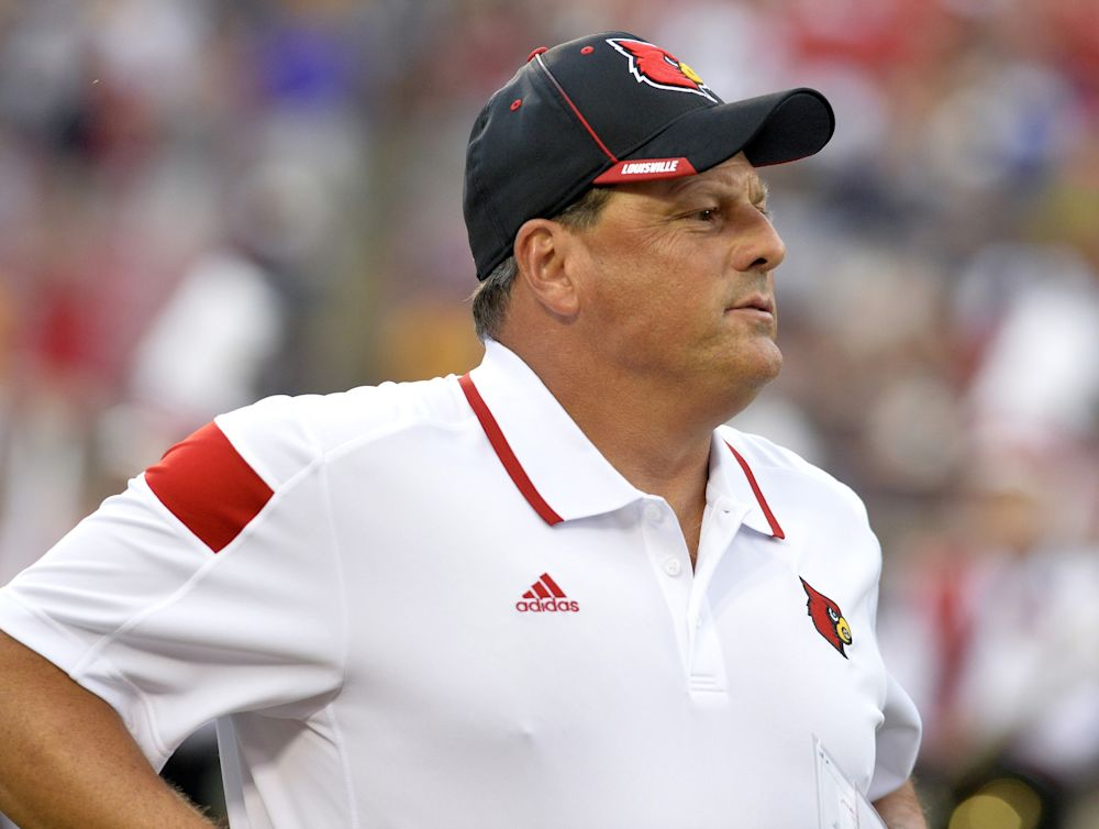 Todd Grantham was defensive coordinator at Louisville for three seasons. (AP Photo/Timothy D. Easley)