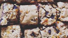 Best Ever Chocolate Chip Cookie Cheesecake Bars