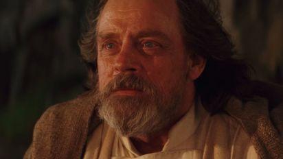 Luke's final words in Star Wars: The Last Jedi revealed